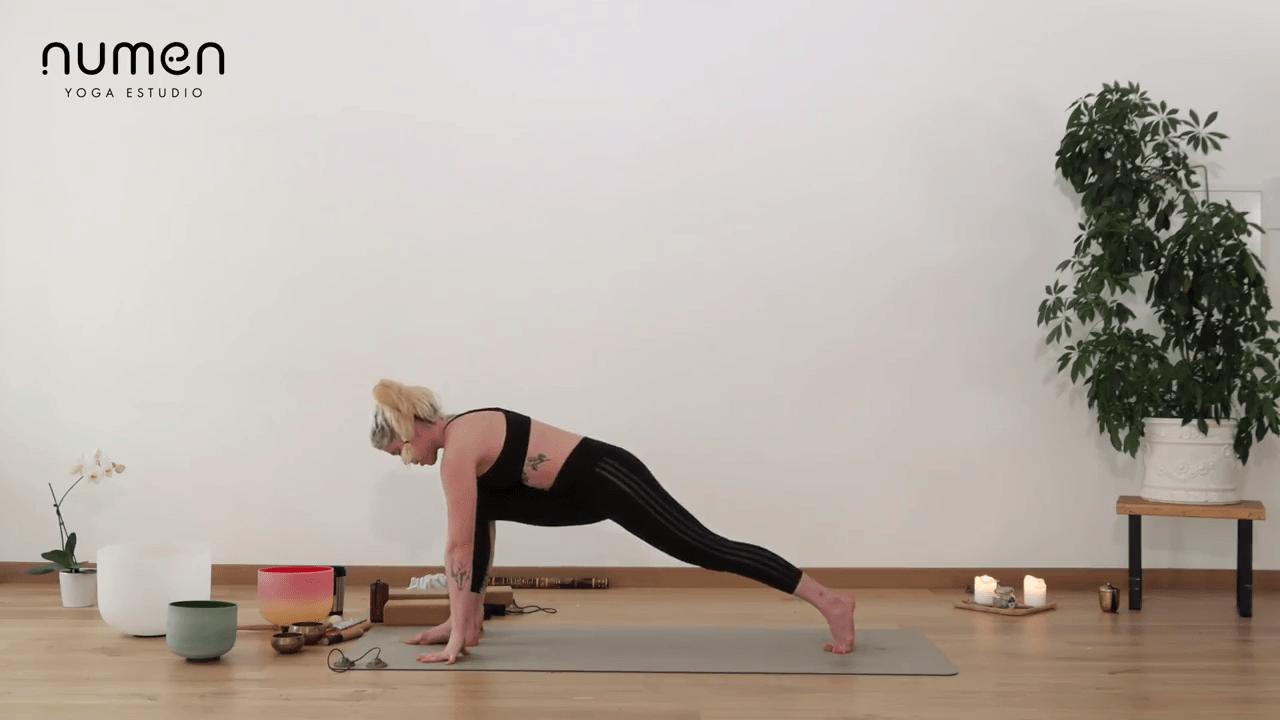 Secuencia de iniciacion al vinyasa yoga