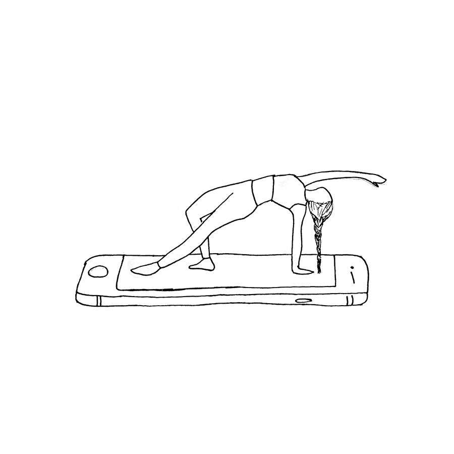 ¿Cómo enseñar yoga a través del mundo digital?