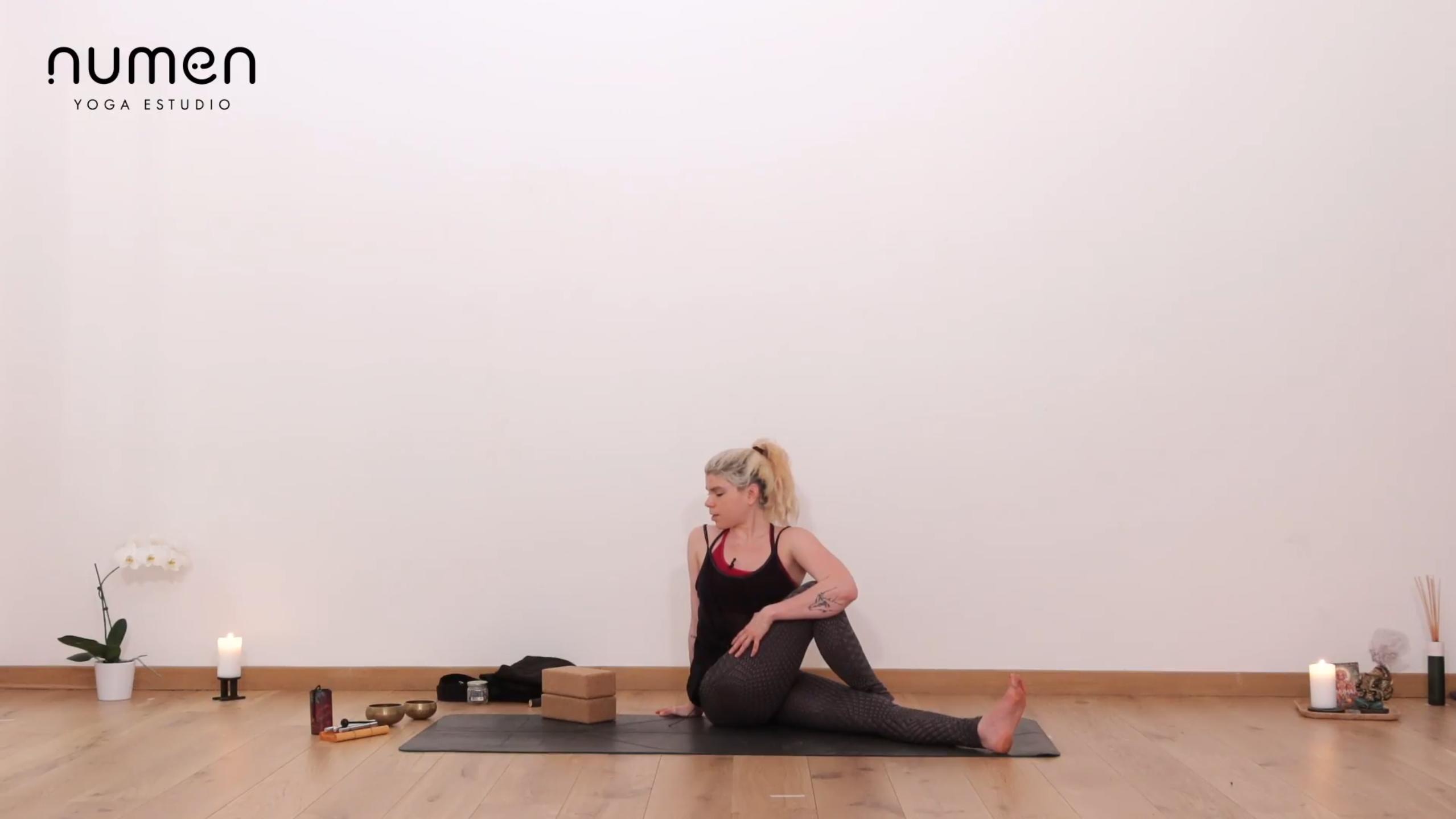 Yin yoga para la cadera